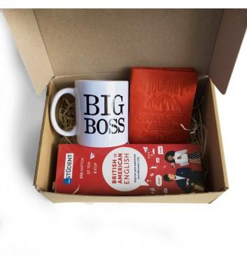 Подарунковий бокс «Big Boss: travel set red»