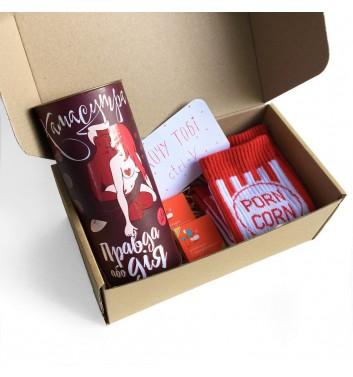 Подарунковий бокс «For my love: red set»
